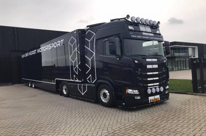 Scania S650 voor Van der Horst Motorsport