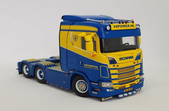 PRIMEUR - SCANIA 650 S V8power