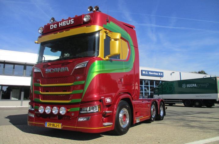 Scania S650 voor De Heus