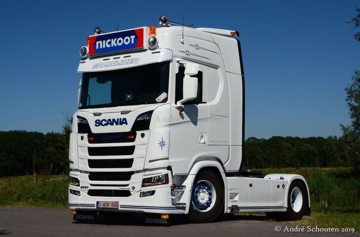 Scania S650 voor Danny van den Branden (B)