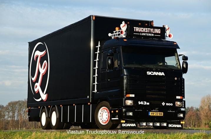 Scania 143 500 voor Truckstyling Lunteren