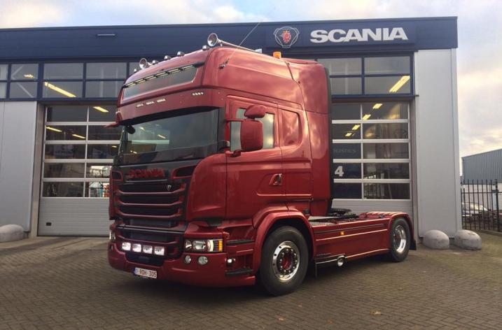 Scania R580 voor Rihani (B)