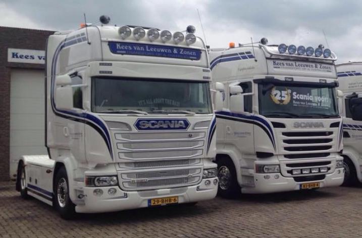Scania R520 voor Kees van Leeuwen