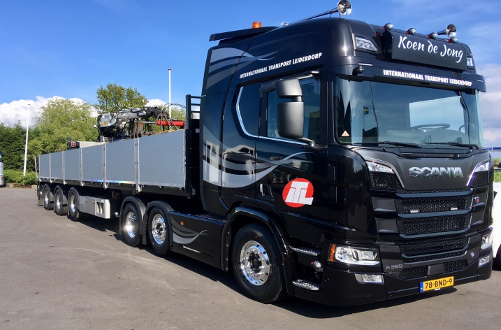 Nieuwe Scania R520 voor ITL transport uit Leiderdorp