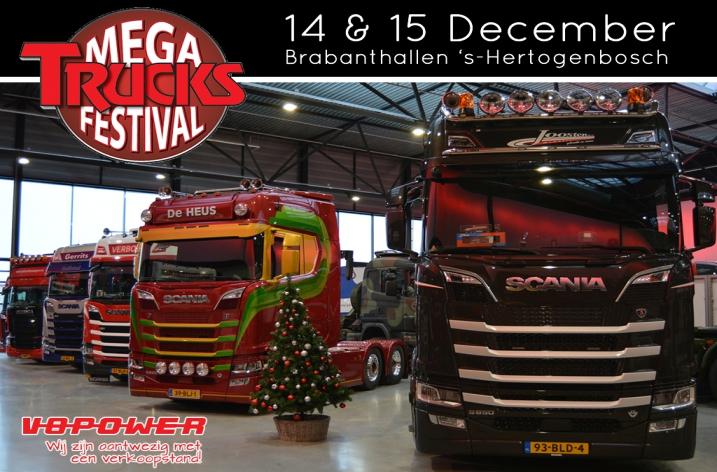 Win vrijkaarten voor het Mega Trucks Festival