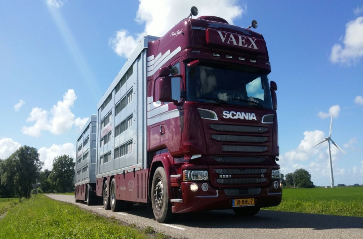 Scania R520 voor VAEX