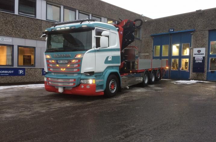 Scania R520 voor TEA Transport (NO)