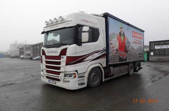 Scania S580 Nextgen voor Utne Transport A/S (NO)