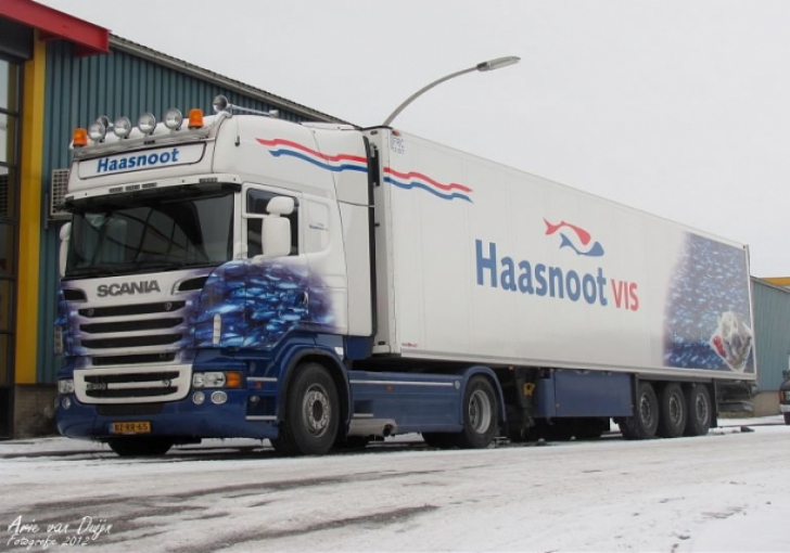 V8Power.nl - Scania R500 voor Haasnoot