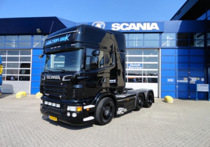 Verwonderend V8Power.nl - Scania R500 voor Walter Bax YY-96