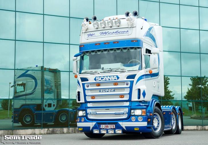 Verrassend V8Power.nl - Semtrade Special - Scania R500 UG-51