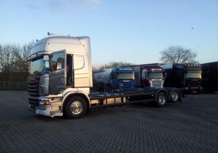Van der Heijden Scania R730