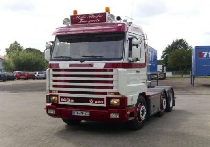 Verwonderlijk V8Power.nl - Te koop: Scania 143 420 6x2 TL-78