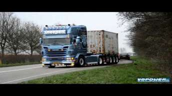 Sneepels JR. - Scania R500 V8 Loud Sound Machine!