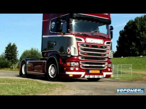 S. Verbeek - Scania V8 Lovely Sound!