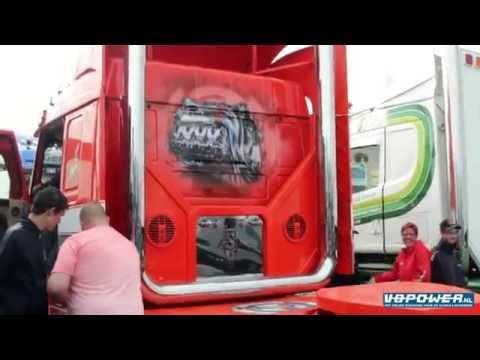S. Verbeek - Scania T143 V8 with sound system