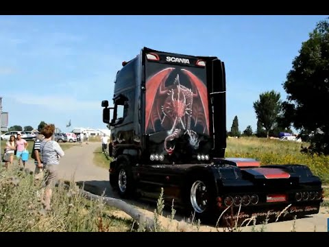 Scania V8 Film Mix - Loud Pipes Saves Lives! HD