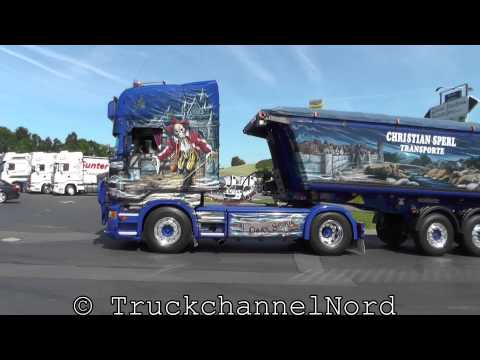 Scania V8 Sound Open Pipe Compilation